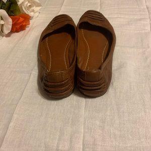 Frye Shoes - Frye Brown Carson Ballet Flat